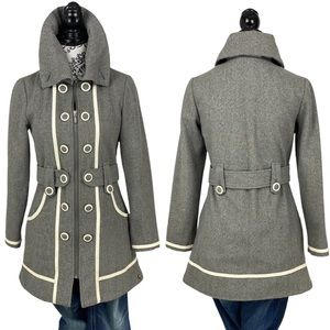 GENTLEFAWN Wool Blend- Girls Pea Coat